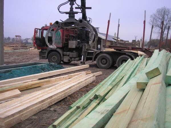 Transport drewna 3