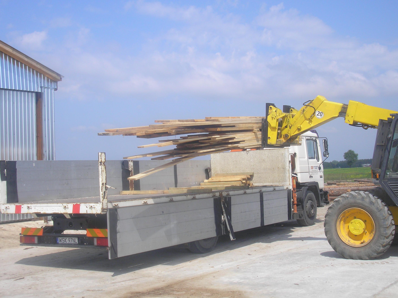 Transport drewna 2